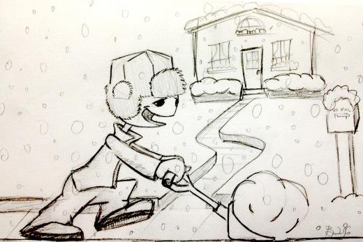 Snow -1